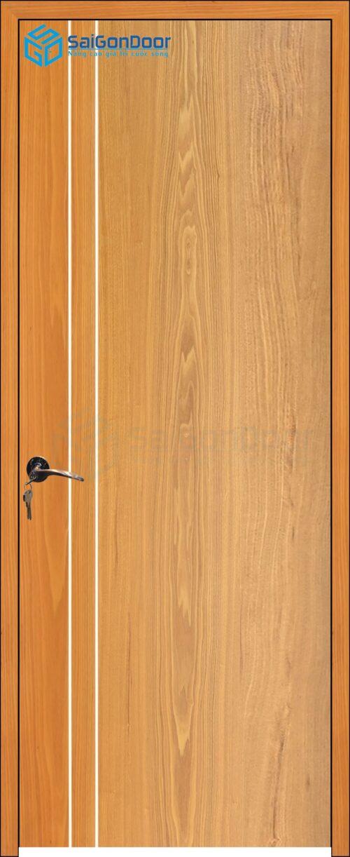 Cửa gỗ cao cấp SaiGonDoor MDF Veneer P1R2 soi (4)