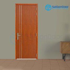 Cửa gỗ cao cấp SaiGonDoor MDF Veneer P1R2 xoan dao (4)