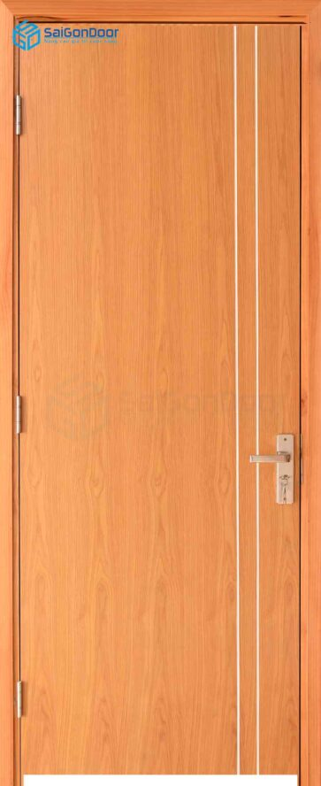 Cửa gỗ công nghiệp MDF Melamine P1R2-xoan dao