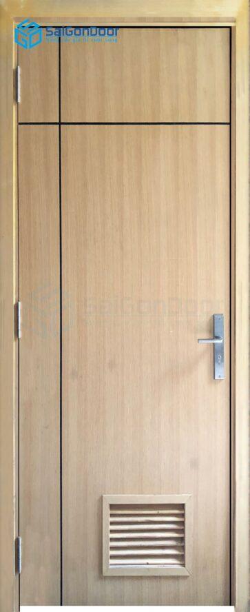 Cửa gỗ nhà vệ sinh MDF Veneer P1R2L1