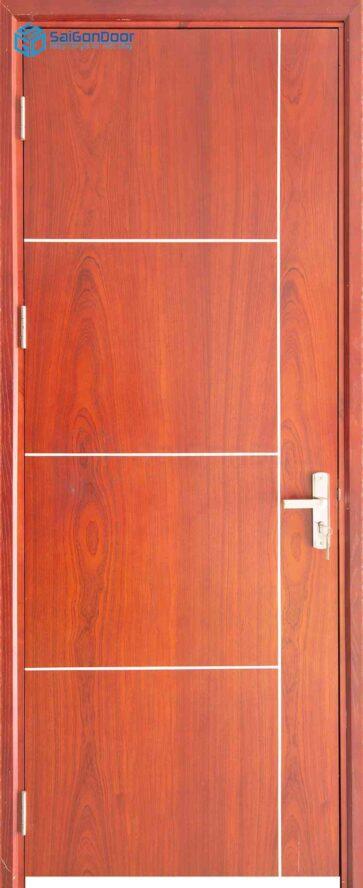 Cửa gỗ công nghiệp MDF Veneer P1R4b xoan dao (4)