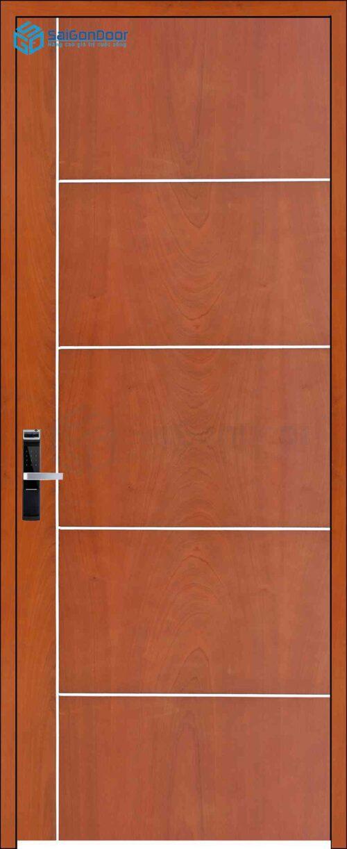 Cửa gỗ công nghiệp MDF Veneer P1R5 xoan dao (4)