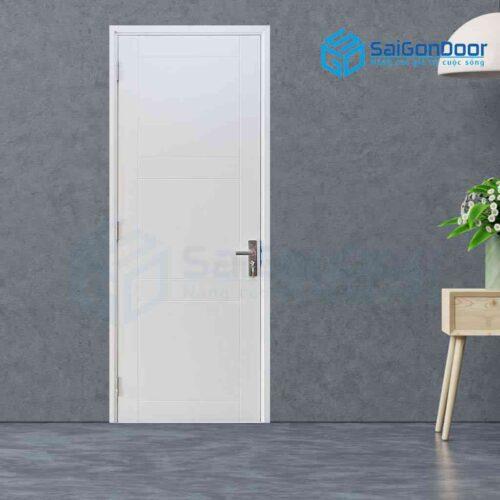Cửa gỗ phủ nhựa PVC MDF Veneer P1R8-C1