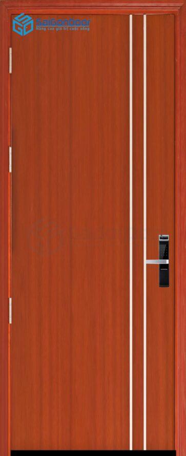 Cửa gỗ cao cấp SaiGonDoor MDF Veneer P1R2 cam xe (2)