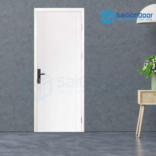 Cửa gỗ cao cấp SaiGonDoor MDF Veneer P1R4-C1 (2)