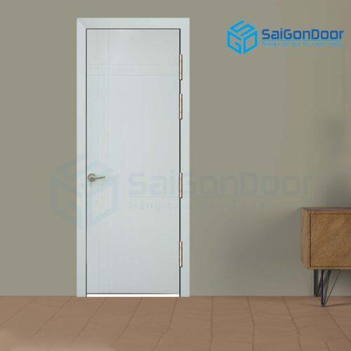 Cửa gỗ cao cấp SaiGonDoor MDF Veneer P1R4 -C1