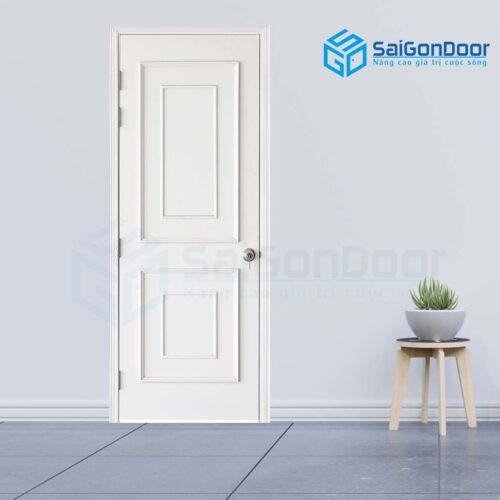 Cửa gỗ cao cấp SaiGonDoor MDF Veneer PN4-C1