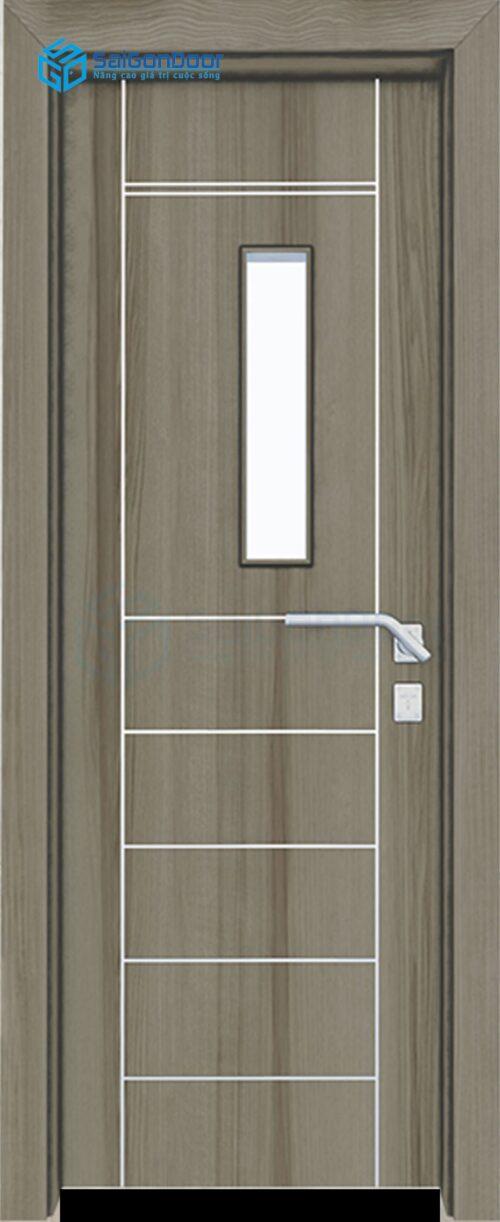 Cửa gỗ phòng khách sạn KS Cua go composite SGD 26G1CN