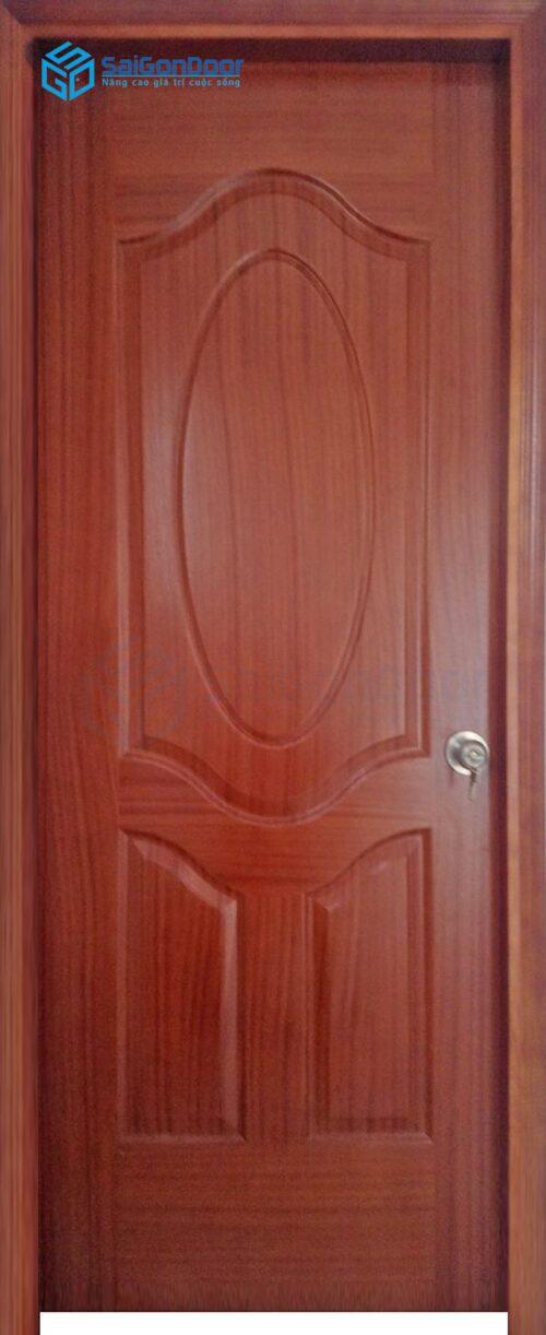 Cửa gỗ phòng khách sạn KS Cua go cong nghiep HDF Veneer 3A cam xe