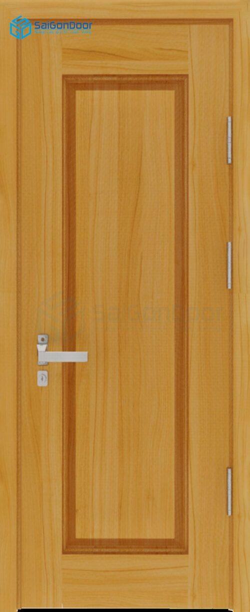 Cửa gỗ công nghiệp HDF Veneer SGD 1B soi (2)
