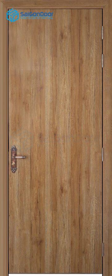 Cửa gỗ nhà vệ sinh Melamine P1-1