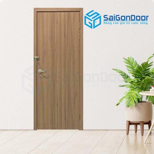 Cửa gỗ phòng ngủ PN SGD Melamine P1-2