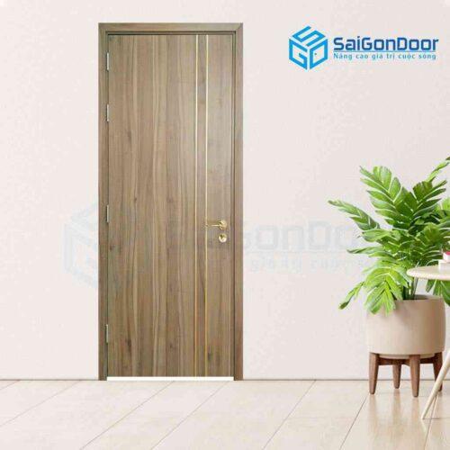 Cửa gỗ phủ nhựa PVC Melamine P1R2