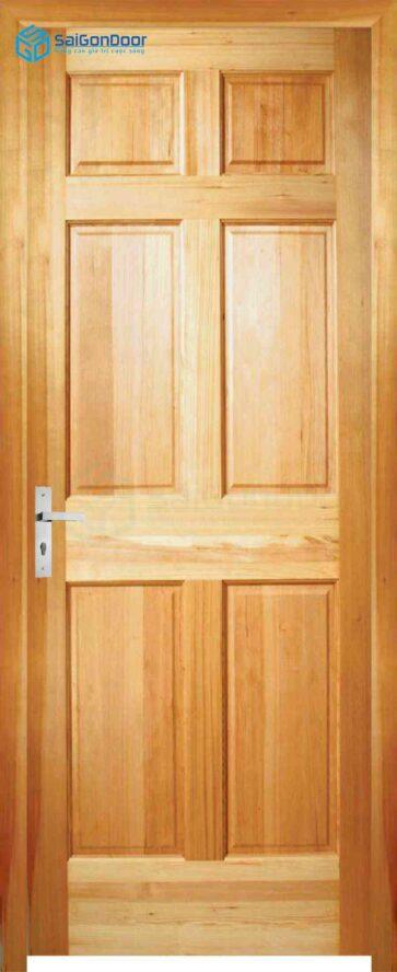 Cửa gỗ tự nhiên GTN 6A Ash sang