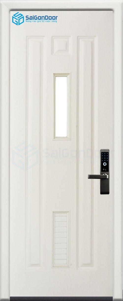 Cửa nhựa phòng ngủ PN Cua nhua Dai Loan 01-802 Ag