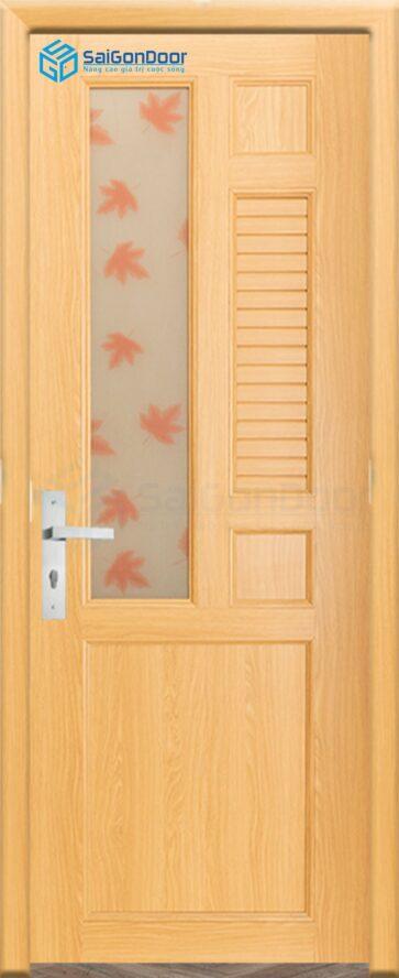 Cửa nhựa phòng ngủ PN Cua nhua Dai Loan YA-12 (1)