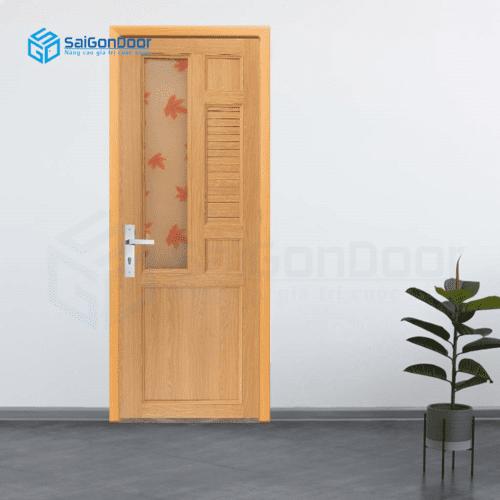 Cửa nhựa phòng ngủ PN Cua nhua Dai Loan YA-12