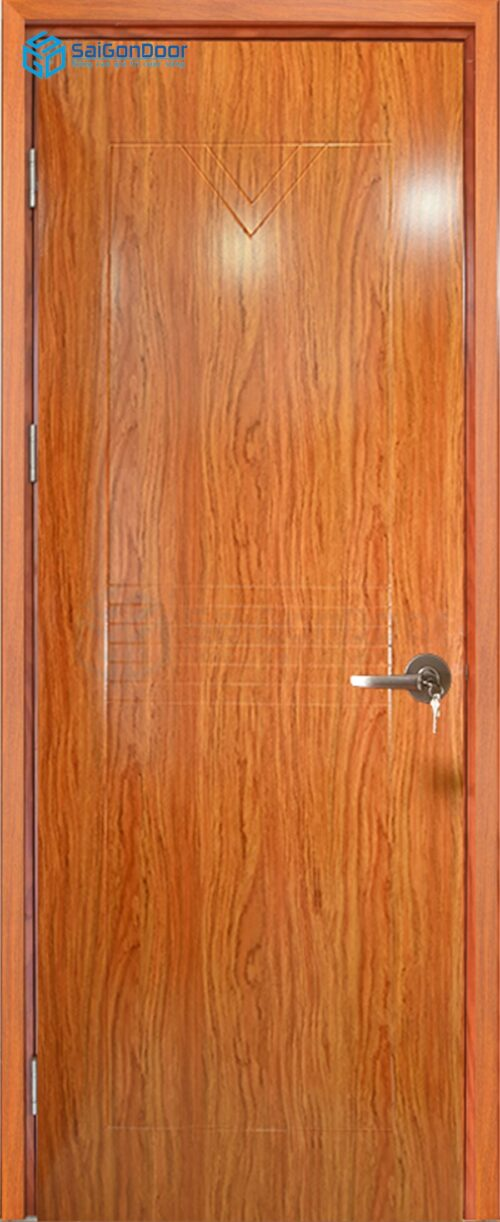 Cửa gỗ giá rẻ SGD composite LX 23 ko kinh