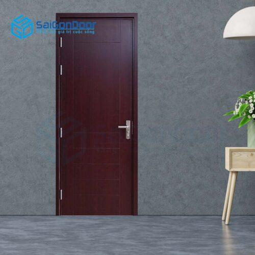 Cửa gỗ giá rẻ SGD composite SYB 105 CNC