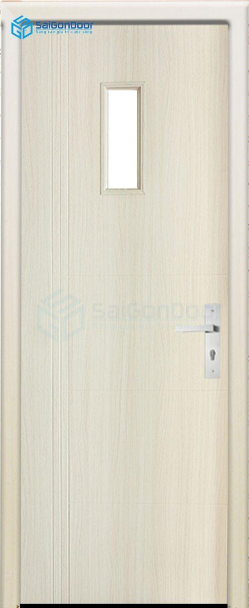 Cửa gỗ giá rẻ SGD SYB 155