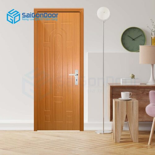Cửa gỗ giá rẻ SGD SYB 645