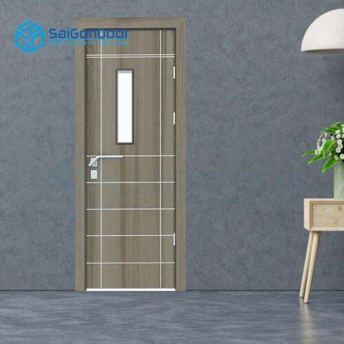 Cửa gỗ giá rẻ SGD Composite 26CSG1s