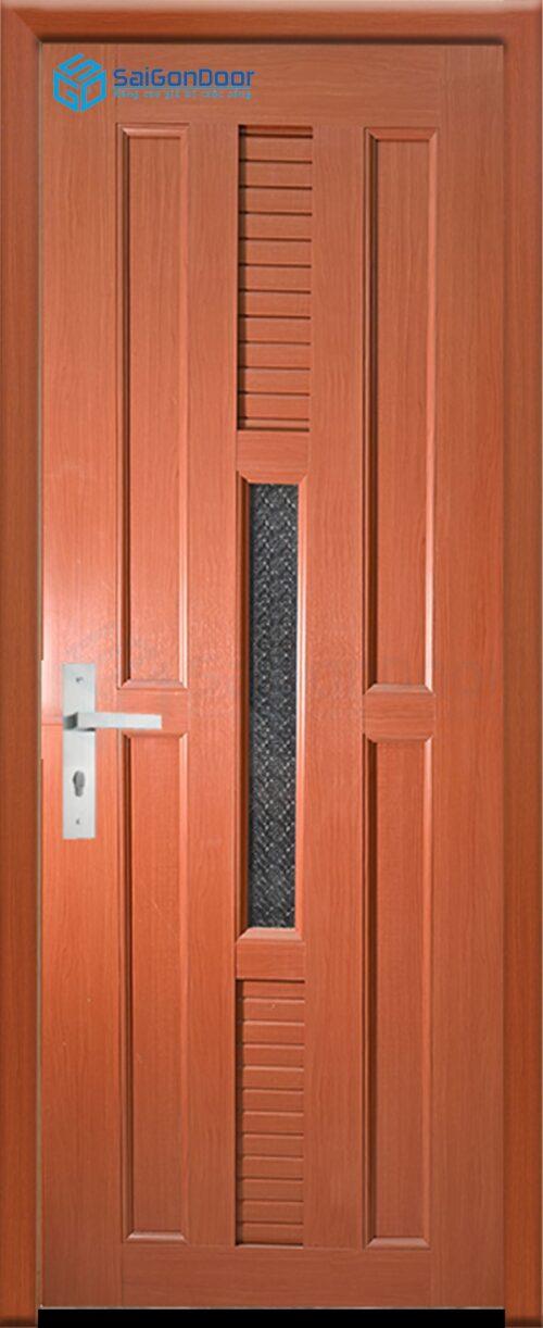 Cửa nhựa phòng ngủ PN Cua nhua gia go Dai Loan YO-24 (2)