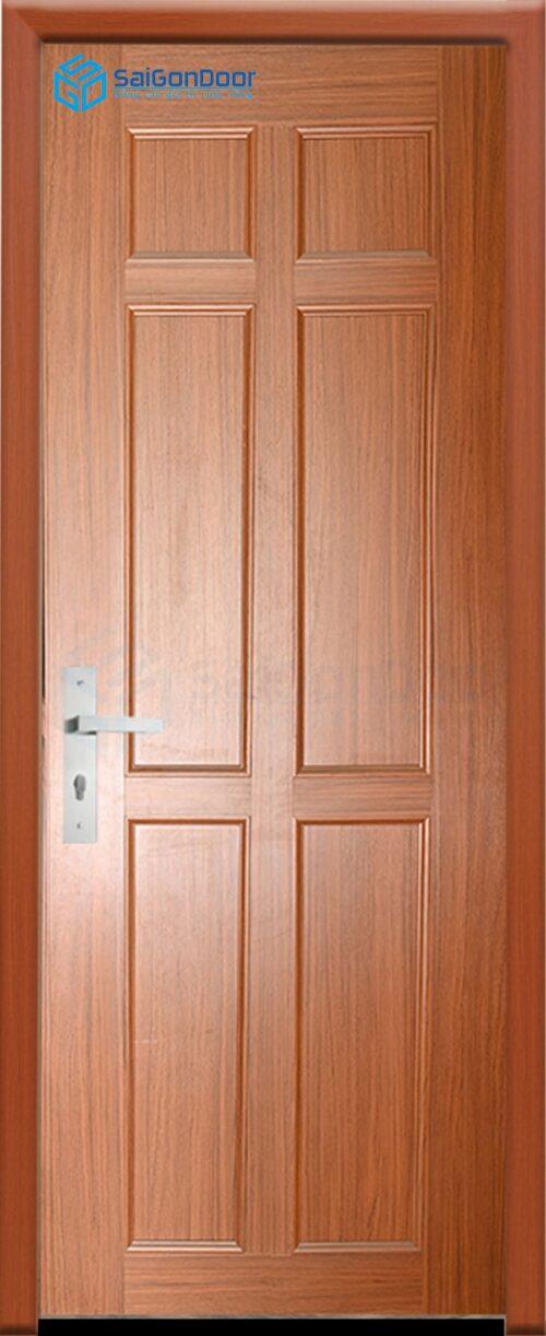 Cửa nhựa phòng ngủ PN Cua nhua gia go Dai Loan YO-40