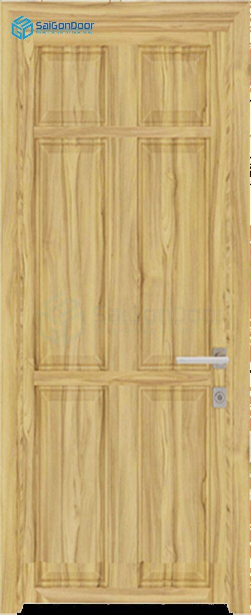 Cửa gỗ giá rẻ SGD composite 6A soi (2)