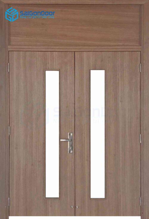 Cửa gỗ công nghiệp MDF Melamine IMG_2198 2 cánh