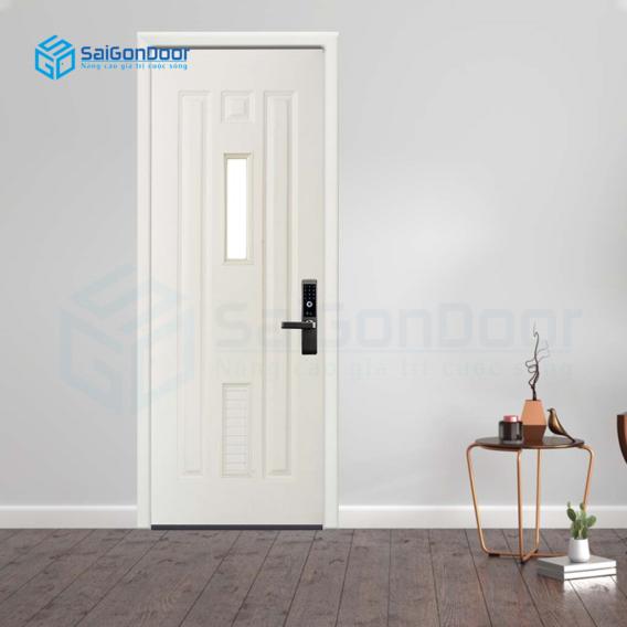 Thiết kế cửa vệ sinh phù hợp phong thủy