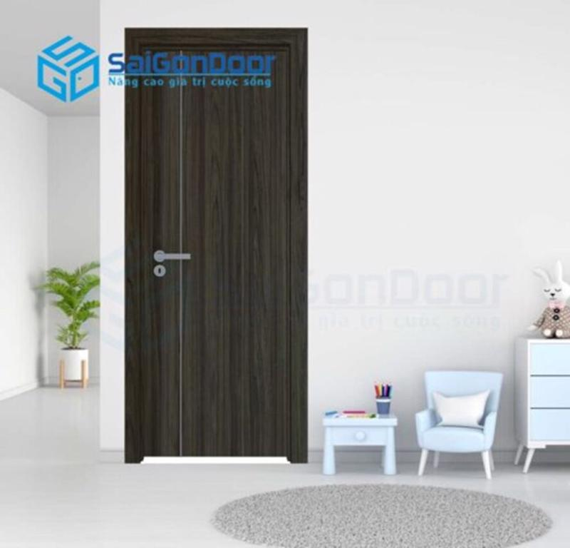 Cửa toilet bằng gỗ tự nhiên sẽ là cửa gỗ chống nước rất hiệu quả