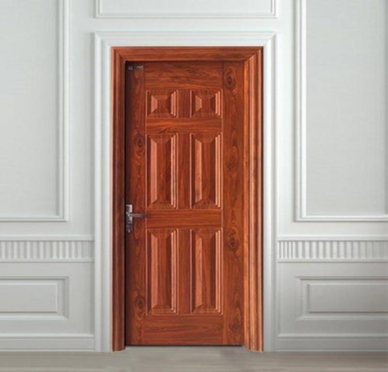 Cửa thép vân gỗ được sử dụng cho nhiều không gian