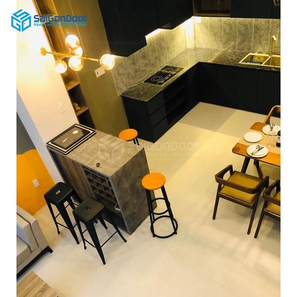 Thiết kế không gian đủ rộng để chứa thức ăn