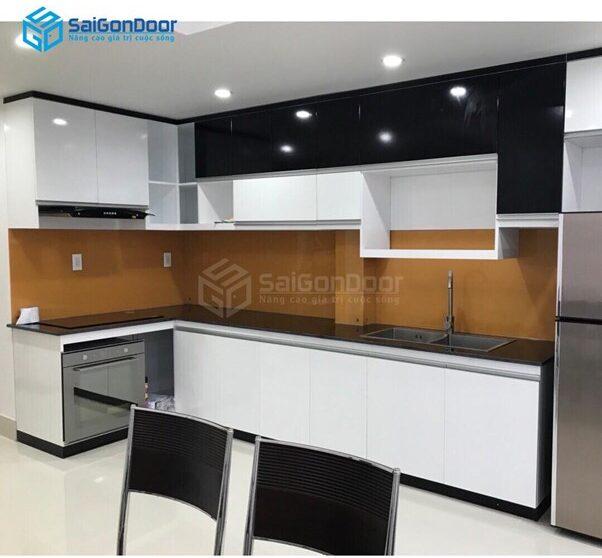 Saigondoor - đơn vị cung cấp tủ bếp nhựa uy tín