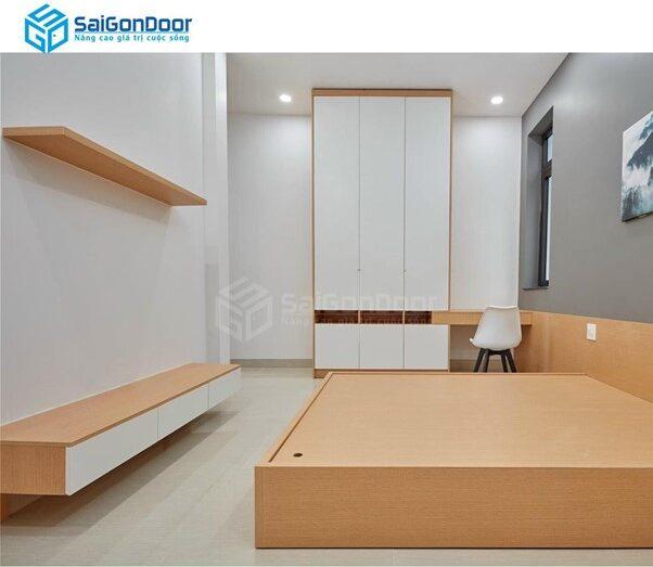 Saigondoor - địa chỉ cung cấp tủ quần áo gỗ chất lượng