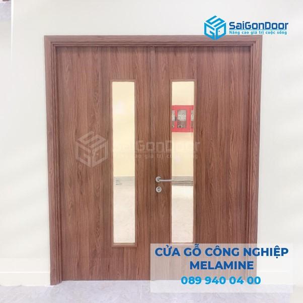 Saigondoor được biết đến là địa chỉ thi công và lắp đặt cửa gỗ công nghiệp 2 cánh chuyên nghiệp