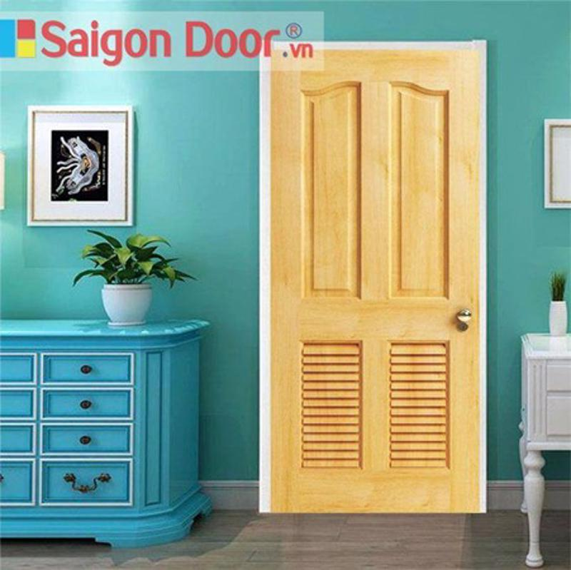 Mẫu cửa gỗ tự nhiên cao cấp mới nhất tại SaiGonDoor