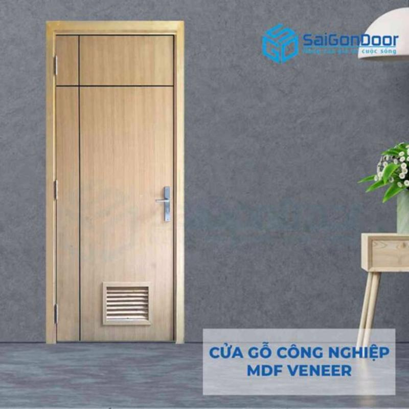 Cửa gỗ cao cấp được sử dụng rộng rãi ở các chung cư, căn hộ