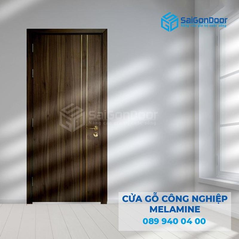 Mẫu cửa gỗ bán chạy nhất tại showroom SaiGonDoor