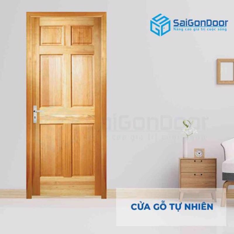 Cửa gỗ tự nhiên với nhiều đặc điểm nổi bật