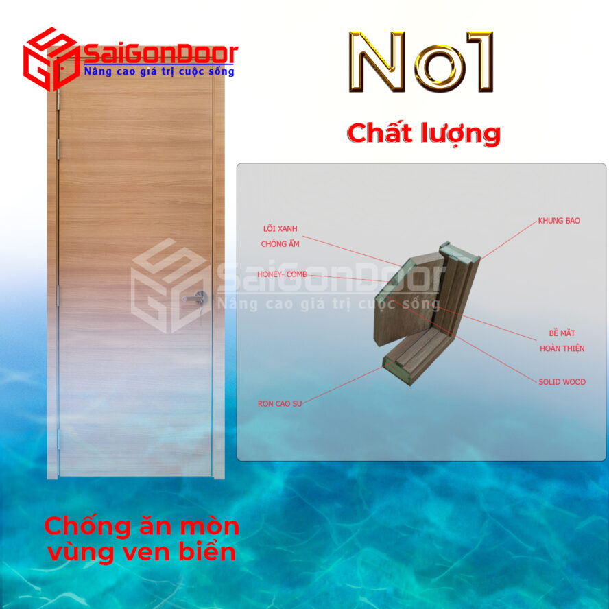 Cửa gỗ công nghiệp số 1 cho chất lượng