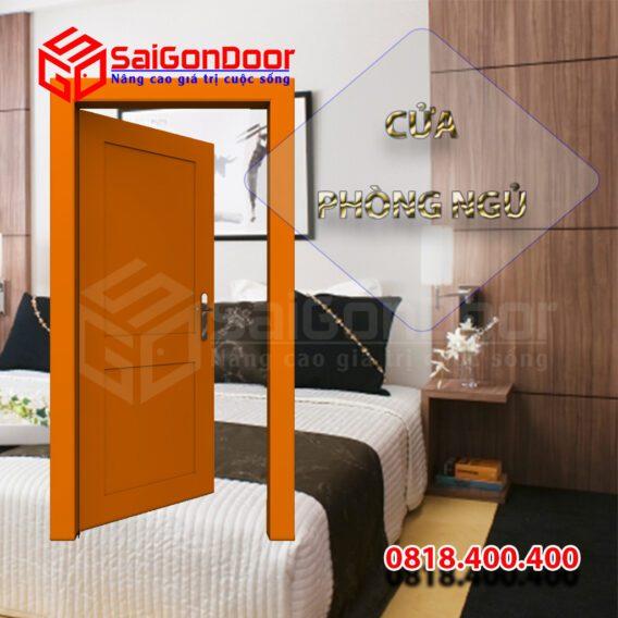 Cửa phòng ngủ HDF Veneer