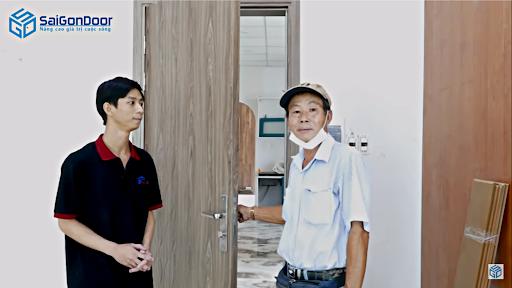 Cảm nhận của khách hàng khi sử dụng cửa gỗ công nghiệp MDF PVC
