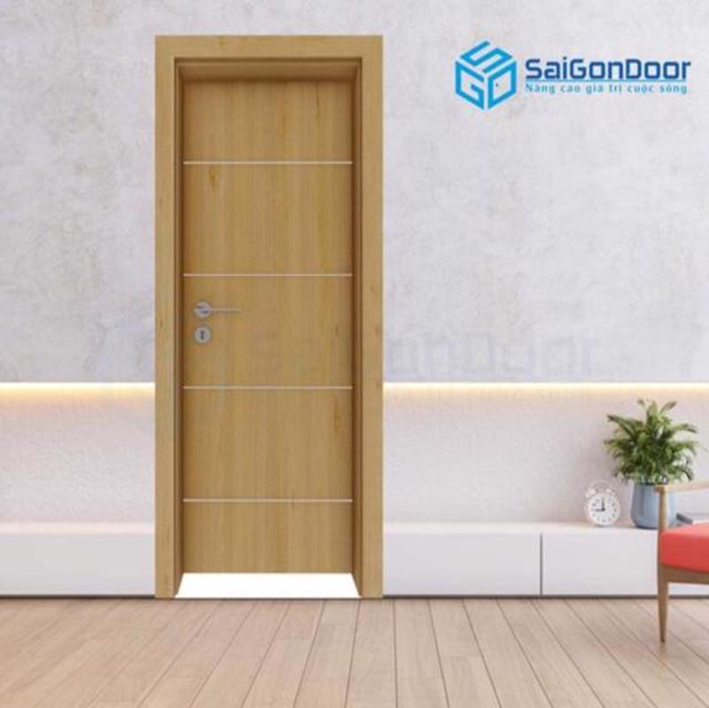 Thiết kế cửa gỗ nhà vệ sinh tinh tế, sang trọng tại SaiGonDoor