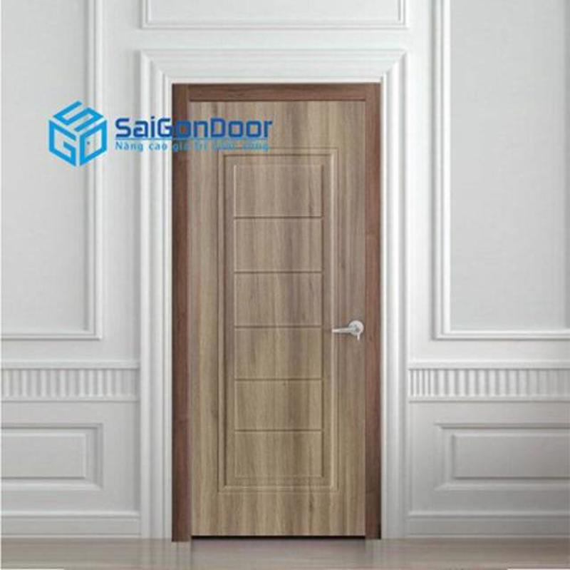 Mẫu mã cửa gỗ phòng vệ sinh đa dạng, nổi bật
