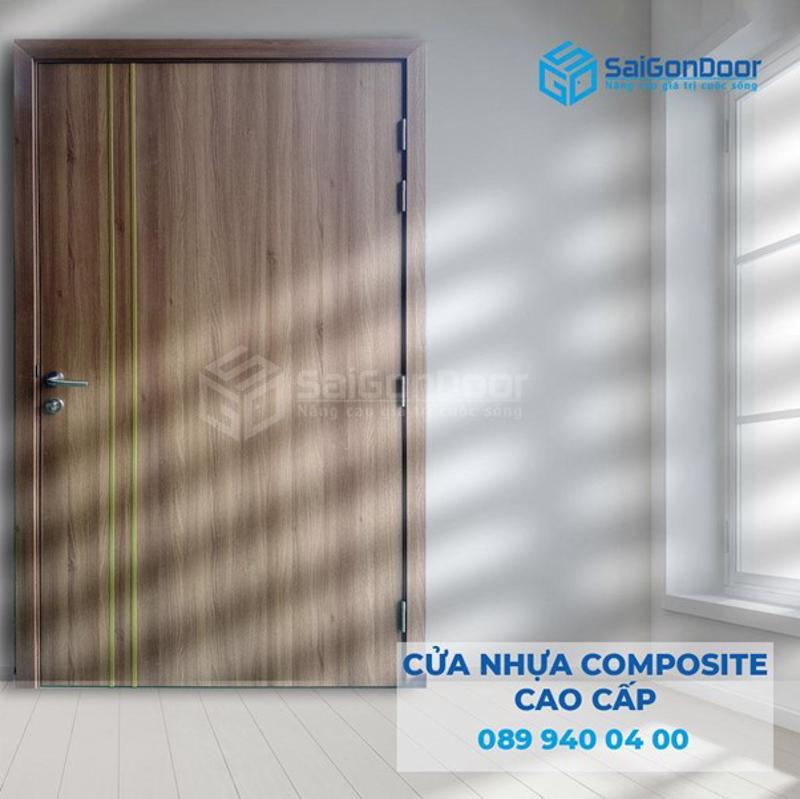 Cửa gỗ khách sạn chất liệu composite cao cấp
