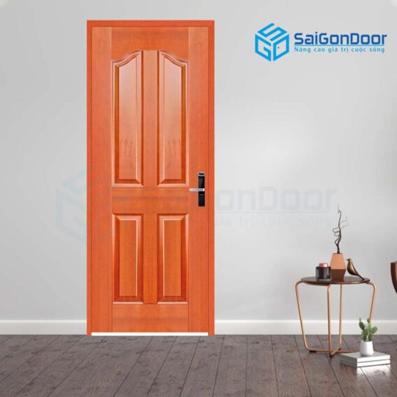 Cửa gỗ cho nhà vệ sinh màu sắc đẹp