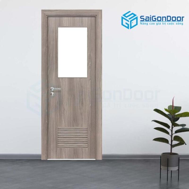 Cửa gỗ phòng vệ sinh cao cấp
