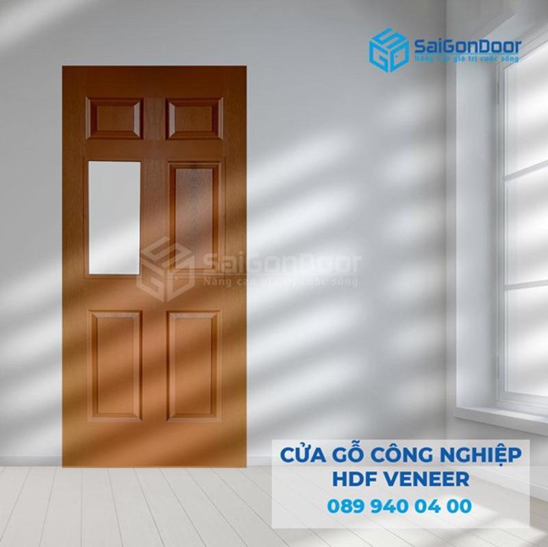 Cửa nhà vệ sinh bằng gỗ công nghiệp HDF cao cấp